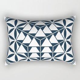 Vector Equilibrium, Sacred Geometry Rectangular Pillow