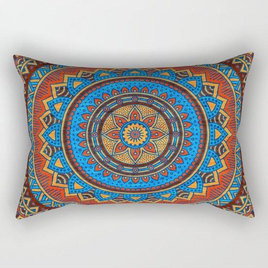 Hippie mandala 73 Rectangular Pillow