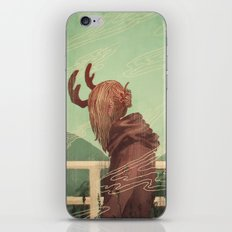 Last Year's Antlers iPhone & iPod Skin