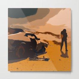 Mad Max Rockatansky 2 Metal Print