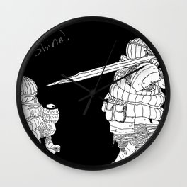Siegewart of Catarina Wall Clock