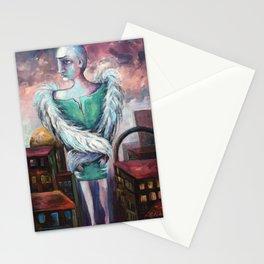 UNEMPLOYED ANGEL Stationery Cards