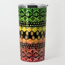 One Love Tribal {black} Travel Mug