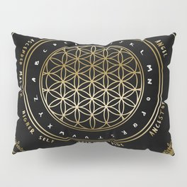 Gold | Higher Dimensional Spirit Board (Ouija)  Pillow Sham
