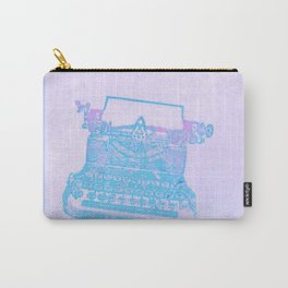 Violet typewriter Carry-All Pouch