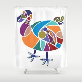 Dodo Bird Shower Curtain