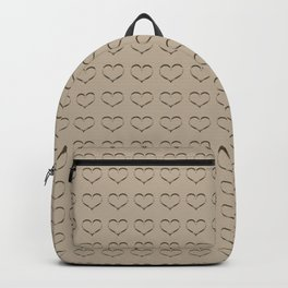 Pure Gold Heart Backpack