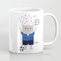 sports Mugs featuring Sports Cat by The Cat