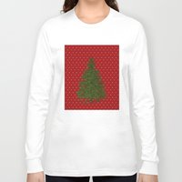 christmas tree Long Sleeve T-shirts featuring *(Christmas) Tree* by Mr & Mrs Quirynen