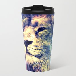 Galaxy Lion : Deep Pastels Travel Mug