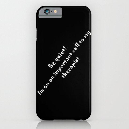 Therapist iPhone & iPod Case