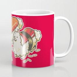 Alpaca Sushi Niguiri Coffee Mug