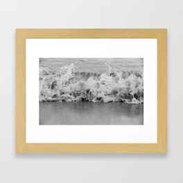 Tiny Splash Framed Art Print