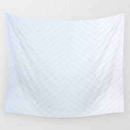 Herringbone White Decor Accent Wall Tapestry