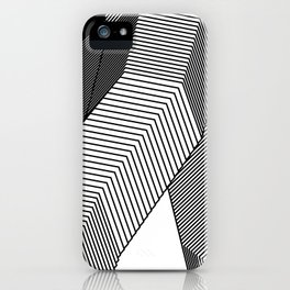 Abstract Geometric 3D Heart iPhone Case