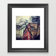 Downtown Orlando, FL Framed Art Print