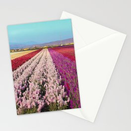 Flower Field Stationery Cards