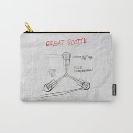 Great Scott, It's a Flux Capacitor - Back to The Future Carry-All Pouch