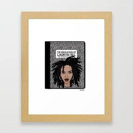 University of Lauryn Hill Framed Art Print