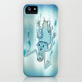Blue Turquoise iPhone Case