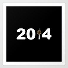 2014-NY-Black Art Print
