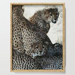 Animaline- Cheetahs Serving Tray