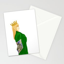 Queen Historia Stationery Cards