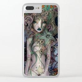 Coralia Clear iPhone Case