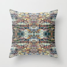 UNTITLED ⁜ ALIGNED #0467 Throw Pillow
