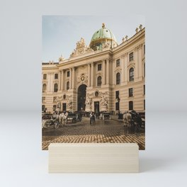 St. Michael's Wing of Hofburg in Vienna, Austria Mini Art Print