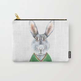 Nerdy Rabbit Carry-All Pouch