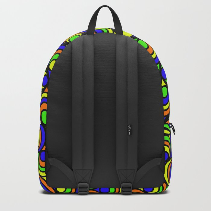 Psychedilic Backpack