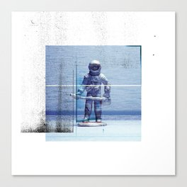 Space Explorer Canvas Print