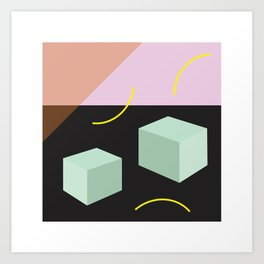 Element: Square Art Print