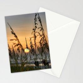 Sunset on Anna Mara Island Stationery Cards