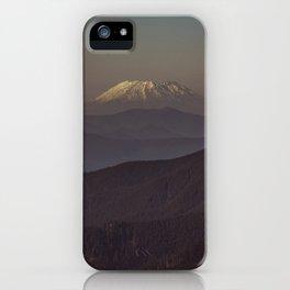 Mount Saint Helens iPhone Case
