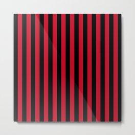 AC Milan Stripes Metal Print