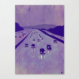 Nightscape 01 Canvas Print