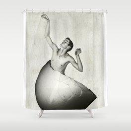 Eggboy Shower Curtain