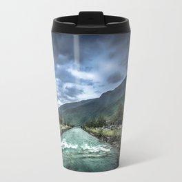 rainy river Travel Mug
