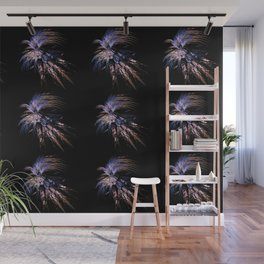 Feather firework Wall Mural