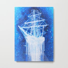 """Sea Spirit"" Metal Print"