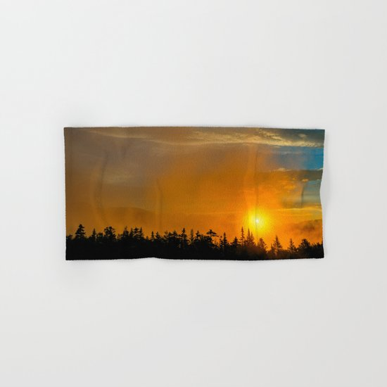 Gold Mist Sunset Hand & Bath Towel