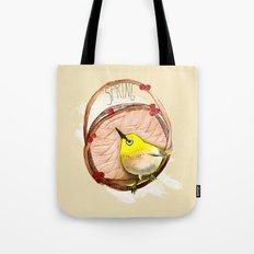 Spring birdy / Nr. 1 Tote Bag