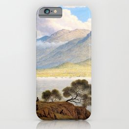 Mount Wellington And Hobart Town From Kangaroo Point - John Glover iPhone Case