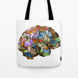 butterflies in my brain Tote Bag
