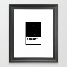 This Year's Color Framed Art Print