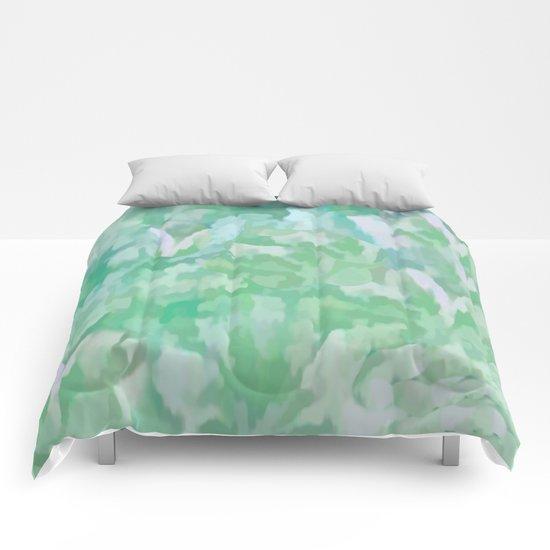 Summer Green Comforters