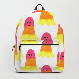 Rainbow Friendly and Happy Ghost for Halloween Backpack