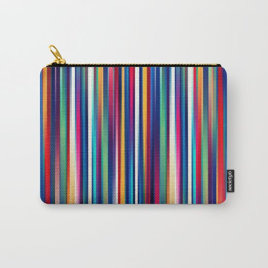 Blurry Lines Carry-All Pouch